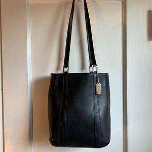 Vtg Rare Coach Bridle Buck Bag Made in Italy